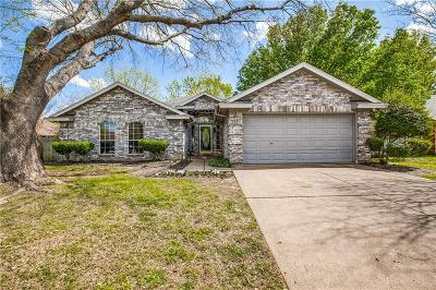 Keller Single Family Home Active Option Contract: 229 Dodge Trail