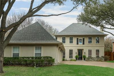 Dallas Single Family Home Active Contingent: 4319 Northaven Road