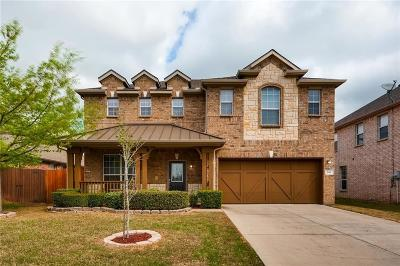 Euless Single Family Home Active Option Contract: 501 Serenade Lane