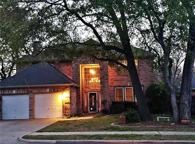 Flower Mound Single Family Home Active Option Contract: 2124 Beechwood Lane