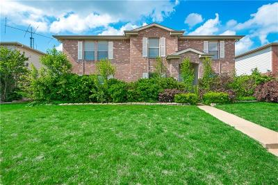 Wylie Single Family Home Active Option Contract: 1516 Windward Lane