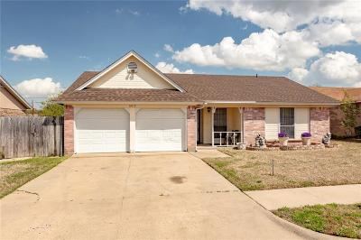 Watauga Single Family Home Active Option Contract: 6412 Storm Drive