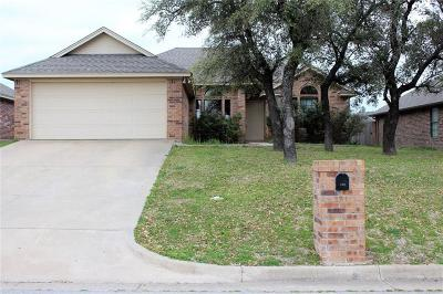 Stephenville Single Family Home Active Contingent: 316 Cactus Valley