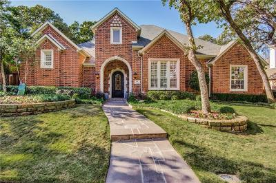 Coppell Single Family Home For Sale: 119 Tennyson Place