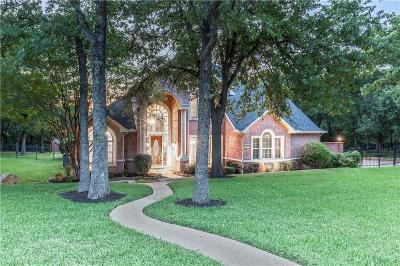 Flower Mound Single Family Home For Sale: 2905 River Bend Trail