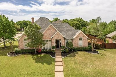 Keller Single Family Home Active Option Contract: 1612 Greenhill Court