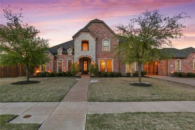 Prosper Single Family Home Active Contingent: 1111 Three Rivers Drive
