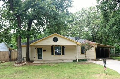 River Oaks Single Family Home For Sale: 5613 Taylor Road