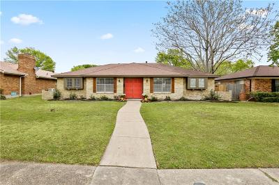 Dallas Single Family Home Active Contingent: 4336 Cinnabar Drive