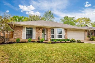 Euless Single Family Home Active Option Contract: 2505 Poppy Lane
