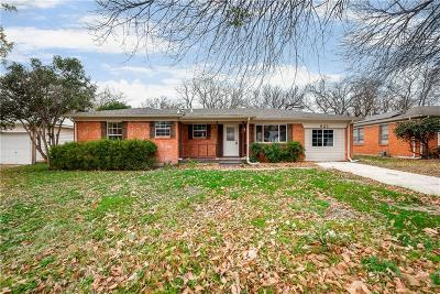 Hurst Single Family Home Active Option Contract: 821 Billie Ruth Lane
