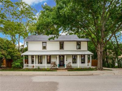 Mckinney Single Family Home Active Contingent: 109 S College Street