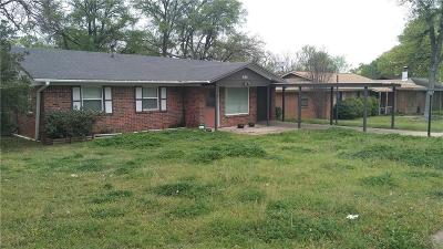 Mineral Wells Single Family Home Active Option Contract: 600 27th Avenue
