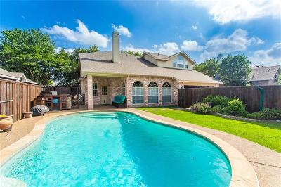 Allen Single Family Home For Sale: 1529 Hickory Trail