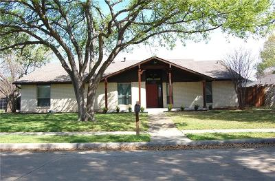Carrollton Single Family Home Active Option Contract: 1503 Shannon Place