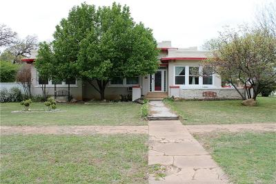 Cisco Single Family Home For Sale: 700 W 7th Street