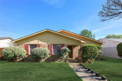 The Colony Single Family Home For Sale: 5068 Aztec Drive