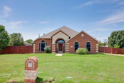 Terrell Single Family Home Active Kick Out: 504 Timberside Drive