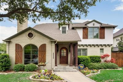 University Park TX Single Family Home For Sale: $1,500,000
