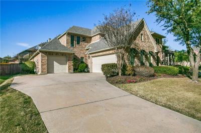 McKinney Single Family Home For Sale: 7900 Craftsbury Lane