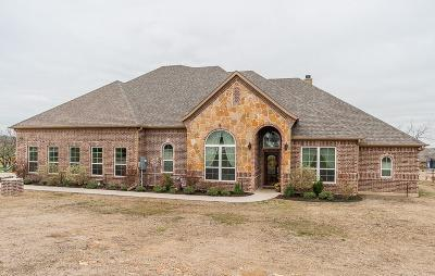 Aledo Single Family Home Active Option Contract: 129 Scenic View Drive