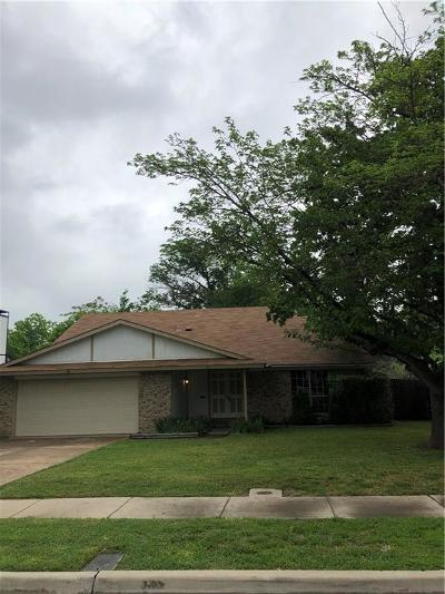 Lewisville Single Family Home For Sale: 817 Salem Trail