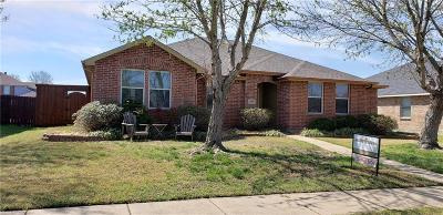 Dallas County, Denton County, Collin County, Cooke County, Grayson County, Jack County, Johnson County, Palo Pinto County, Parker County, Tarrant County, Wise County Single Family Home Active Contingent: 2918 Glendale Drive