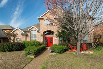 Plano Single Family Home Active Option Contract: 3317 Westwind Drive