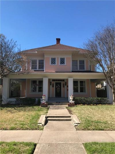 Dallas Single Family Home For Sale: 4925 Worth Street