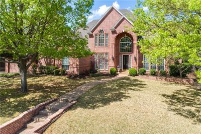 Keller Single Family Home For Sale: 1021 Canterbury Lane