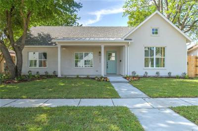 Westworth Village Single Family Home For Sale: 5833 Coleman Street
