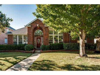Coppell Single Family Home Active Option Contract: 635 Beal Lane