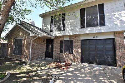 Fort Worth Residential Lease For Lease: 6721 Fire Hill Drive