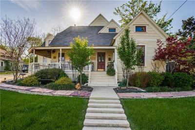 McKinney Single Family Home Active Option Contract: 406 Parker Street