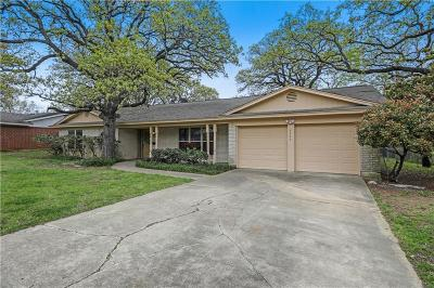 North Richland Hills Single Family Home Active Option Contract: 7724 Terry Drive
