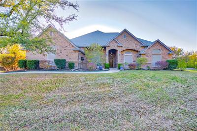 Azle Single Family Home Active Contingent: 212 Blacktail Court