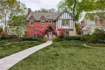 Dallas County Single Family Home For Sale: 6916 Lakeshore Drive