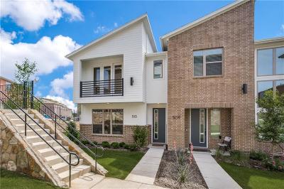 Plano Townhouse For Sale: 513 Harmon Drive