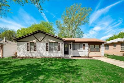 Hurst Single Family Home Active Option Contract: 829 Billie Ruth Lane