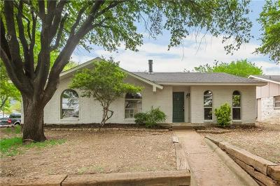Carrollton Single Family Home Active Option Contract: 1815 Arundel Drive