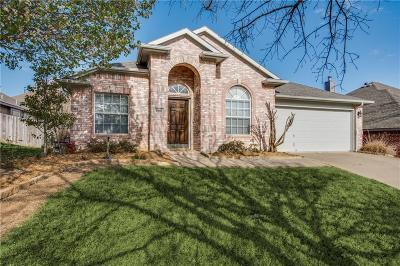 Keller Single Family Home Active Contingent: 1467 Lockwood Drive