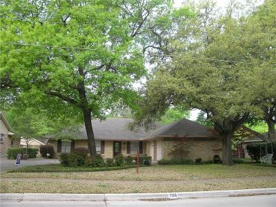 Richardson Single Family Home For Sale: 706 Laguna Drive