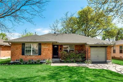 Richardson Single Family Home Active Contingent: 725 Nottingham Drive