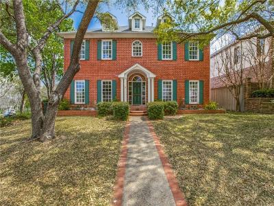 Dallas Single Family Home For Sale: 6320 Club Lake Court