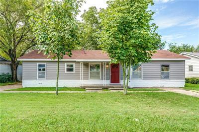 Haltom City Single Family Home Active Option Contract: 5124 Sabelle Lane