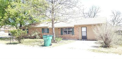 Comanche Single Family Home For Sale: 1202 N Page Street