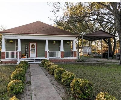 Sanger Single Family Home Active Option Contract: 10809 Fm 2450