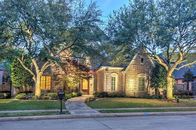 Collin County Single Family Home For Sale: 5849 Versailles Avenue