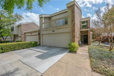 Dallas County Townhouse For Sale: 6788 E Northwest Highway