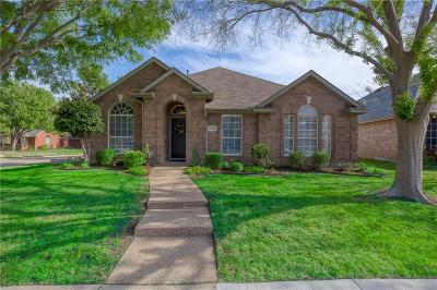 The Colony Single Family Home Active Option Contract: 5500 Buckskin Drive